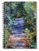 Boardwalk Through The Brambles Spiral Notebook