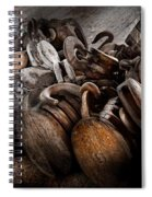 Boat - Block And Tackle  Spiral Notebook