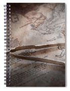 Boat - Sailor - We Are Ready To Sail  Spiral Notebook