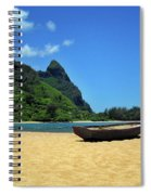 Boat And Bali Hai Spiral Notebook
