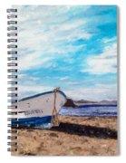 Boat Ashore Spiral Notebook