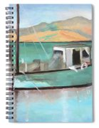 Boat At China Camp State Park Spiral Notebook