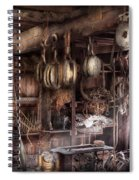 Boat - Block And Tackle Shop  Spiral Notebook