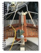 Boat Bow Spiral Notebook