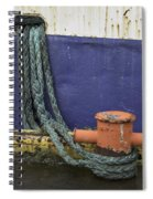 Boat Detail Husavik Iceland 3701 Spiral Notebook