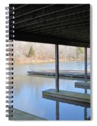 Boat House At Sweet Briar Spiral Notebook