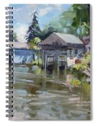Boat Houses Spiral Notebook