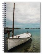 Boat Iv Spiral Notebook