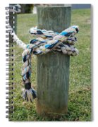Boat Lines Spiral Notebook