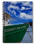 Boat Love In Apalachicola Spiral Notebook