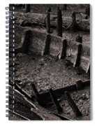 Boat Remains Spiral Notebook