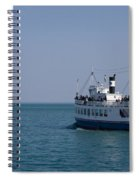 Boat Ride Spiral Notebook