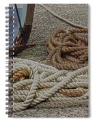 Boat Ropes Spiral Notebook