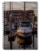 Boat Slip Spiral Notebook