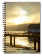 Boathouse Daybreak Spiral Notebook