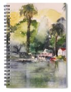Boathouse Spiral Notebook