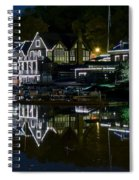 Boathouse Row Eight By Ten Spiral Notebook
