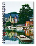 Boathouse Row In Philly Spiral Notebook