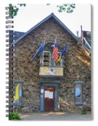 Boathouse Row - Penn Athletic Club Spiral Notebook