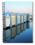Boathouses Spiral Notebook