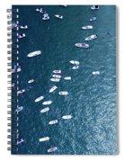 Boating Spiral Notebook