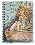 Boating Season Spiral Notebook