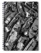 Boats, Hoi An, Vietnam Spiral Notebook
