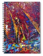 Boats In Calpe 02 Spain Spiral Notebook