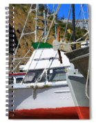 Boats In Drydock Spiral Notebook