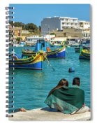Boats Lovers Spiral Notebook
