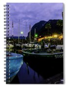 Boats Of The Lake Spiral Notebook