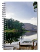 Boats On The Shore. Spiral Notebook