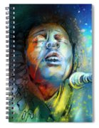 Bob Marley 10 Spiral Notebook