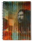 Bob Marley Abstract II Spiral Notebook