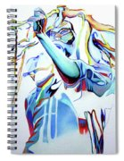 Bob Marley Colorful Spiral Notebook