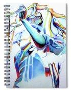 Bob Marley Colorful Spiral Notebook