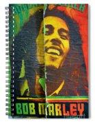 Bob Marley Door At Pickles Usvi Spiral Notebook