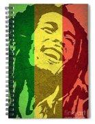 Bob Marley I Spiral Notebook