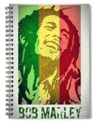 Bob Marley II Spiral Notebook