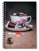 Bobbin And Buttons Spiral Notebook