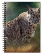 Bobcat Gaze Spiral Notebook