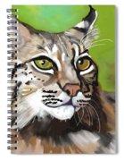Bobcat Katta Spiral Notebook
