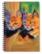 Bobcat Kittens 1 Spiral Notebook