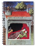 Boccaccio: Lovers, C1430 Spiral Notebook