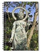Boddhisattva Buddhist Deity - Kyoto Japan Spiral Notebook