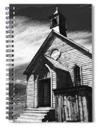 Bodie Church 1977 Spiral Notebook
