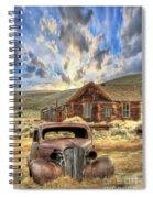 Bodie Ghost Town Spiral Notebook