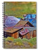 Bodie Ghost Town Spiral Notebook