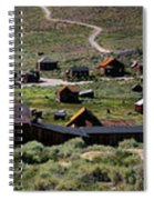 Bodie Ghost Town Panorama Spiral Notebook