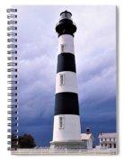 Bodie Island Contrast Spiral Notebook